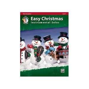 Easy Christmas Instrumental Solos   Level 1   Tenor Sax