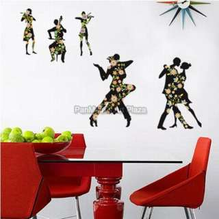ECO 16 Dancing With You, Mural Deco Decals Wall Sticker
