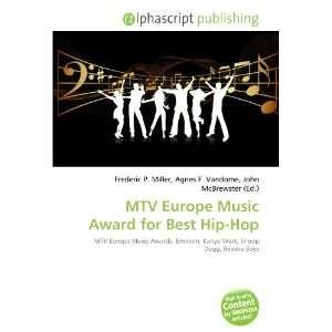 MTV Europe Music Award for Best Hip Hop (9786134152266