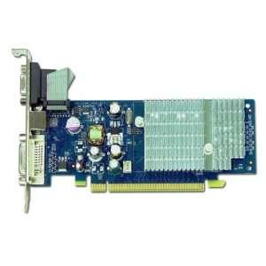 ECS VGA Card N7200GS 256DZ 7200GS GPU 256MB DDR2 64bit