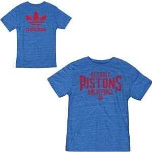 adidas Detroit Pistons Intramural Tri Blend T Shirt