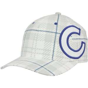 Brand Chicago Cubs White Provoker Closer Flex Hat Sports & Outdoors