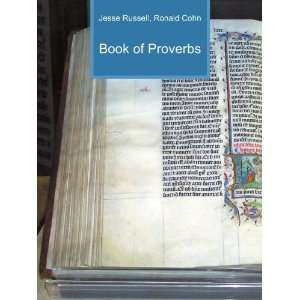 Book of Proverbs Ronald Cohn Jesse Russell Books