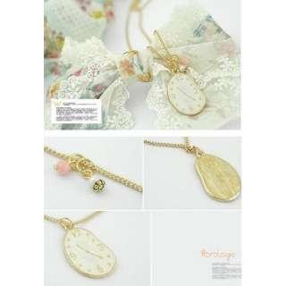 New 2011 Clock Popular Star Korean Fashion Hot Sale Golden a94