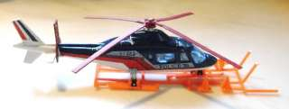 MAJORETTE POLICE AGUSTA 109 HELICOPTER FRANCE 1/60