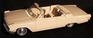 1963 Ford Galaxie 500 Convertible   Promotional Model   Light beige, 1