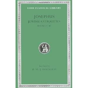 Jewish Antiquities, Volume I Books 1 3 (Loeb Classical
