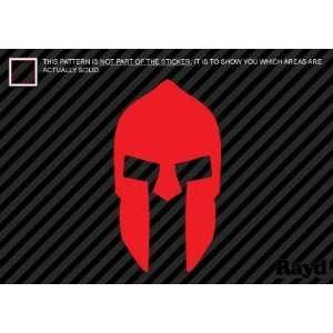 (2x) 300 Spartan Helmet   Sparta   Sticker   Decal   Die