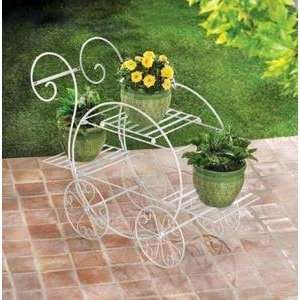 FRENCH FLOWER CART GARDEN PLANT STAND VENDOR CART: Home