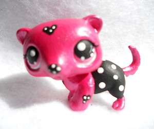Pretty in Pink Ferret * OOAK Custom Littlest Pet Shop
