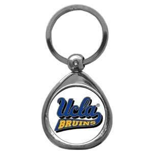 UCLA Bruins College Chrome Key Chain Automotive