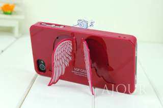 Girls Favourite Cute Angel Wing iPhone 4 4S Phone Case Cover A024