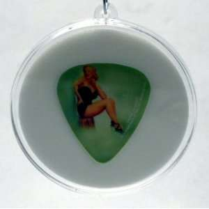 Marilyn Monroe Guitar Pick #4 With MADE IN USA Christmas Tree Ornament