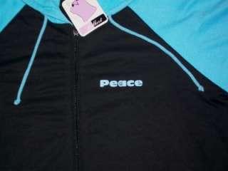 LOVE HOPE PEACE SIGN HOODIE hoody 3XL NEW NWT sweatshirt college