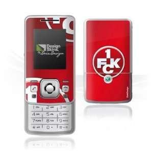 Design Skins for Sony Ericsson T303   1. FCK Logo Design