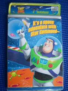 Toy Story Birthday Party Invitations Buzz Pack/s 8 NEW