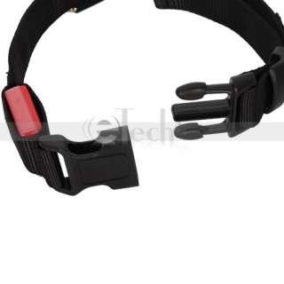 LED Flashing Lighting Safety Pet Dog Nylon Flat Collar 4 Size&6 Color