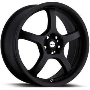 Focal F 05 18x7.5 Black Wheel / Rim 4x100 & 4x4.5 with a 42mm Offset