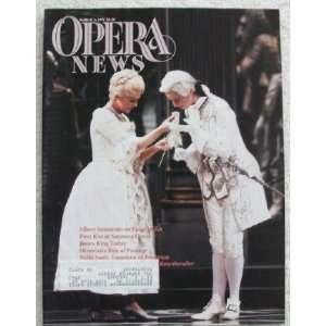 Opera News Magazine. March 2, 1991. Single Issue Magazine