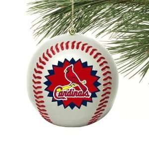 St. Louis Cardinals Mini Replica Baseball Ornament  Sports