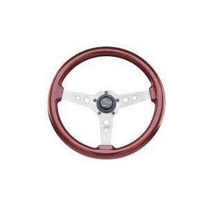 Mahogany Formula Gt Steering Wheel 14 Fits All Jeeps w/ Adapter CJ, YJ