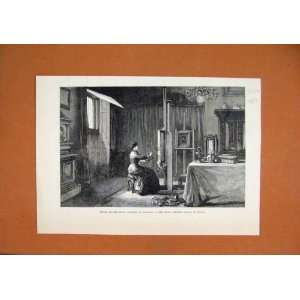 1883 Studio Crown Princess Germany Palace Berlin Print: Home & Kitchen