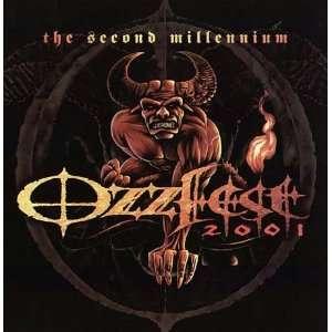 Black Sabbath Ozzy Ozzfest CD Promo Poster Flat 2001