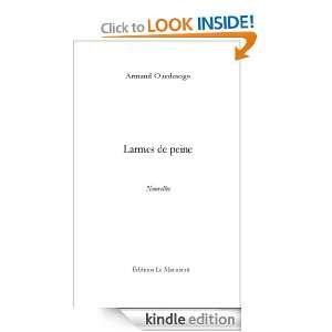 de peine (French Edition): Armand Ouedraogo:  Kindle Store