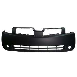 TKY DS04206BB TY5 Nissan Quest Primed Black Replacement Front Bumper