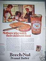 1924 Beech Nut Peanut Butter Childrens Food Ad