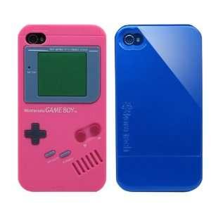 2pcs Set Nintendo Game Boy Silicone Case Rose + KoreTech