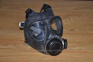 Rubber/Gummi Gas Mask ISRAELI Military Black Filter New