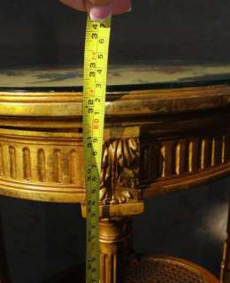 ANTIQUE FURNITURE FRENCH PLANT STAND SIDE LAMP TABLE