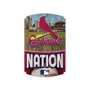 St. Louis Cardinals Official Logo Classic Wood Sign