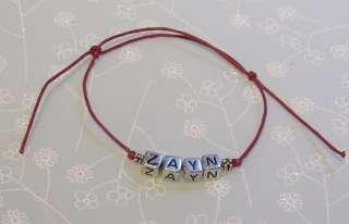 Friendship Bracelet   5 Name Options   Harry Louis Niall Liam Zayn