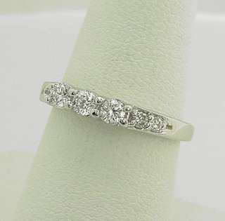 STUNNING ESTATE 14K WG MAGIC GLO 1/2 CARAT DIAMOND RING
