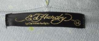 Ed Hardy Christian Audigier Blue Green Dye Life And Glory Tattoo