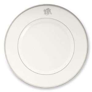 Williams Sonoma Home Pickard Signature Monogram Platinum, Dinner Plate