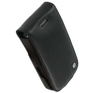 Noreve BlackBerry Torch 9800 Leather Case (Black) Cell
