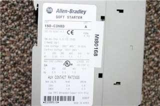 Allen Bradley SMC 3 150 C3NBD Soft Starter