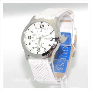GUESS LADIES MULTI FUNCTION LEATHER WATCH U85122L1