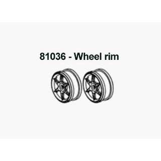 Racing 81036G Green 6 Spoke Wheels   For Redcat RC Racing Vehicles