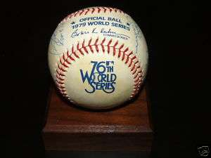 1979 Pittsburgh Pirates Signed World Series Baseball