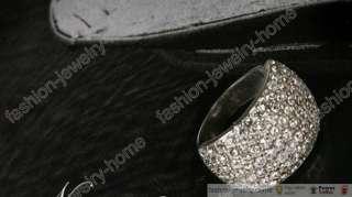 Fashion Shine Full Crystal Ring For Lady