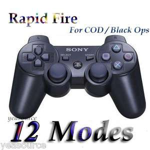 Fire Modded Controller 12 Modes Stealth COD4567 Black Ops MW2 MW3 NEW