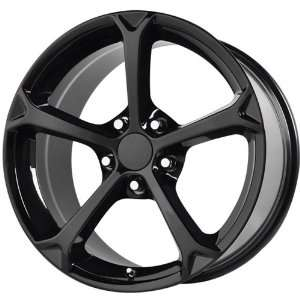 19x10 Replica Corvette Grand Sport 5x120.65 5x4.75 +79mm Gloss Black