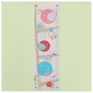 Growth Charts Kids Personalized Bird Growth Chart, Feathered Growth