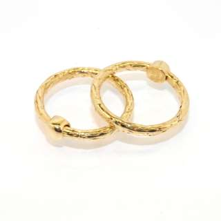 Fancy Round Byzantine Band Ring Yellow White Rose Gold 14K Size Color