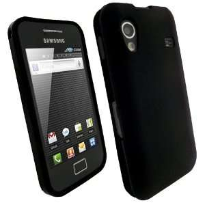 Navitech Black TPU Hard Case Cover For Samsung Galaxy Ace