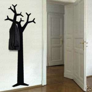 Wall Art Vinyl Decal Sticker Coat Rack Tree Hanger